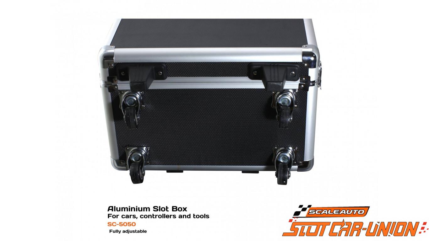 scaleauto sc 5050 slot box aluminium pour voitures contr leurs et outils slot car union. Black Bedroom Furniture Sets. Home Design Ideas