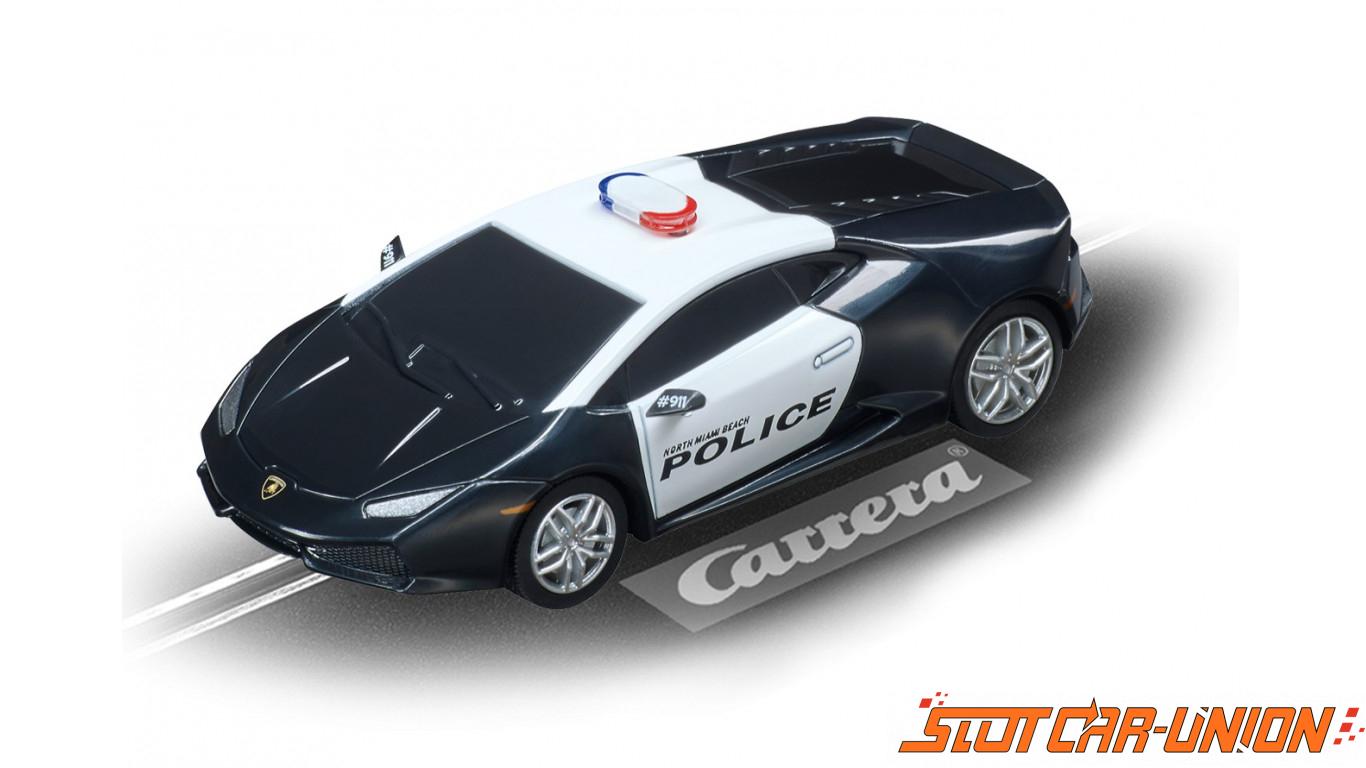 Carrera go plus 66004 night chase set slot car union for 66004