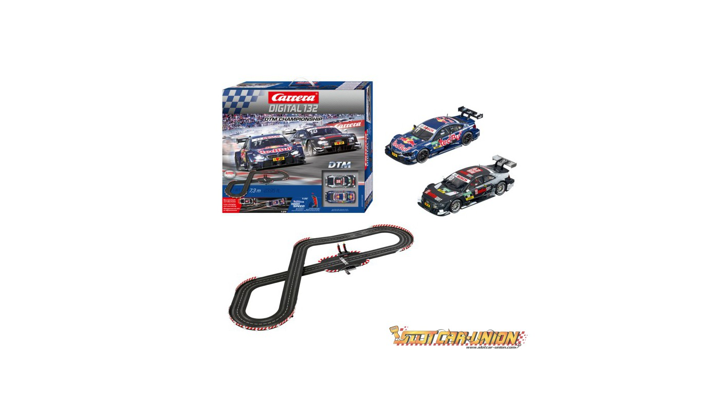 carrera digital 132 30196 dtm championship set slot car union. Black Bedroom Furniture Sets. Home Design Ideas