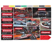 Carrera Logos sheet stickers 2017