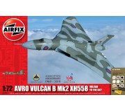 Airfix Avro Vulcan B Mk2 XH558: Vulcan To The Sky Coffret Cadeau 1:72