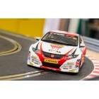Scalextric C3734A 60th Anniversary Special Edition Packaging - BTCC Honda Civic Type R - Matt Neal, 2015