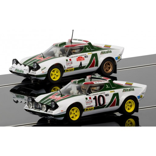 Scalextric C3894A Legends Lancia Stratos 1976 Rally Champions Twinpack