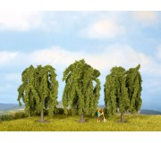 NOCH 25130 Weeping Willows, 3 pieces, 8 cm high