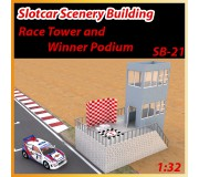 MHS Model SB-21 Race Tower and Winner Podium