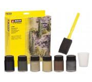 NOCH 61200 Set de couleurs naturelles