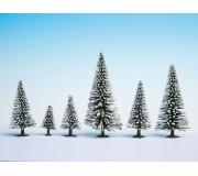 NOCH 26828 25 Sapins de neige
