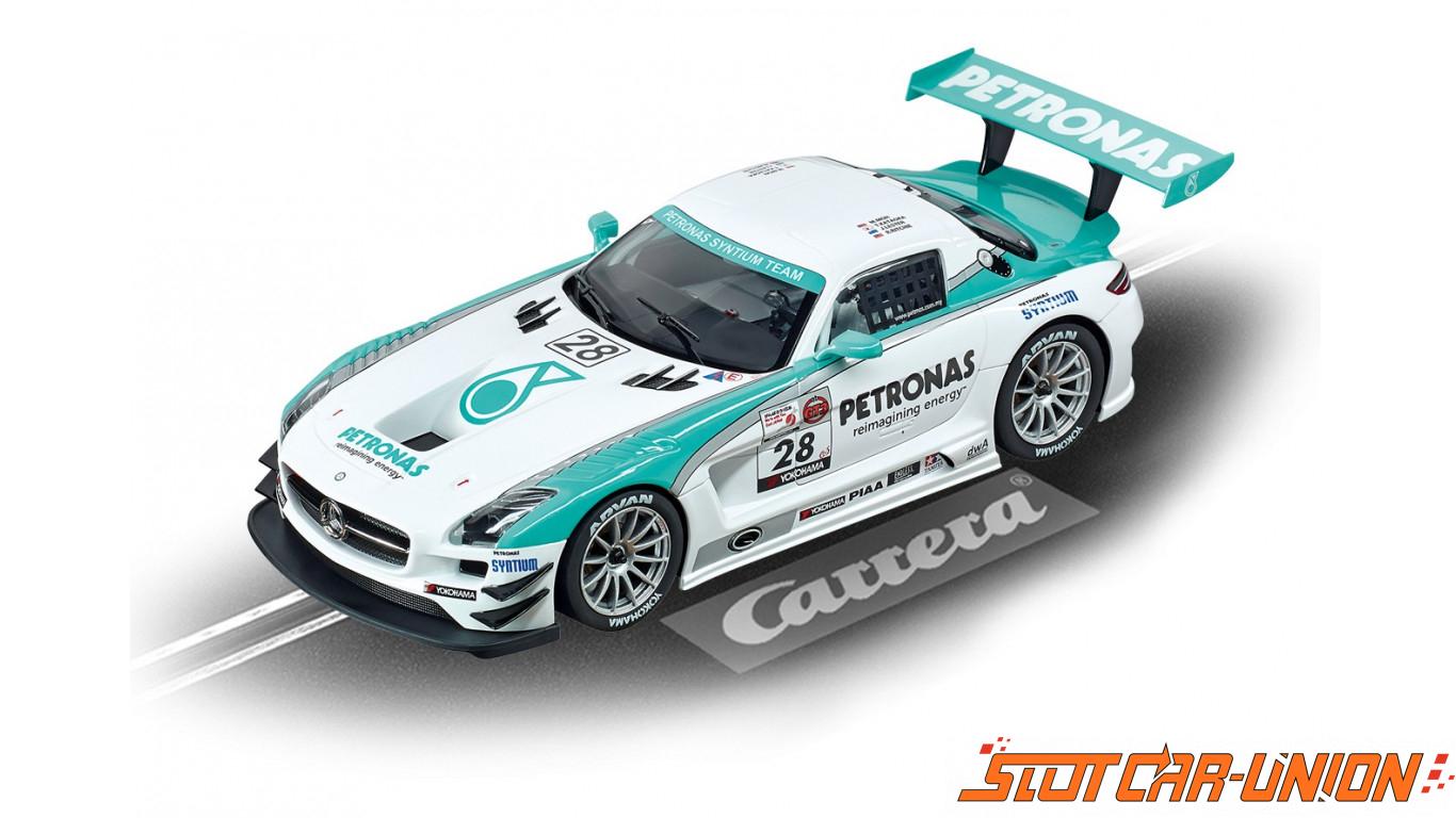 Carrera digital 124 23837 mercedes benz sls amg gt3 for Mercedes benz amg petronas