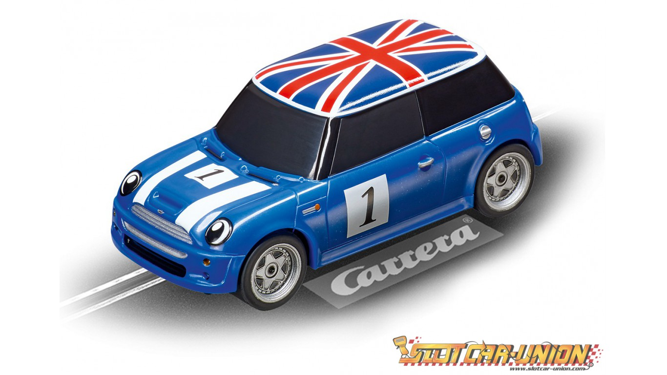 carrera first 63009 mini cooper slot car union. Black Bedroom Furniture Sets. Home Design Ideas