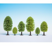 NOCH 26901 Deciduous Trees, 10 pieces, 5 - 9 cm high