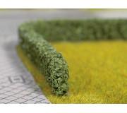 NOCH 21514 Model Hedges, dark green, 15 x 8 mm