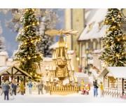 NOCH 14395 Pyramide de Noël