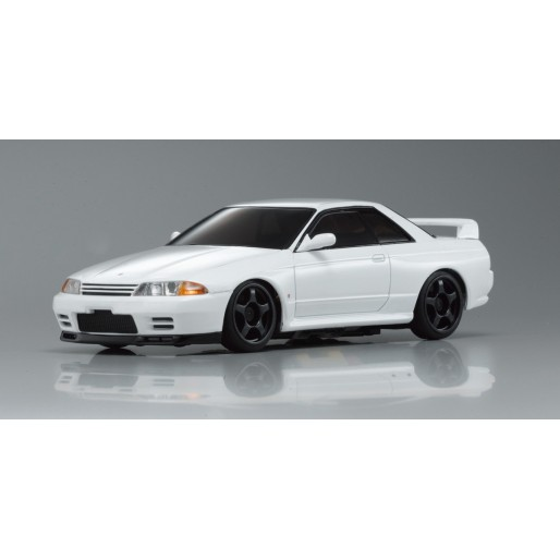 kyosho autoscale nissan skyline gt r r32 blanche n rm. Black Bedroom Furniture Sets. Home Design Ideas