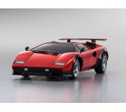 Kyosho AUTOSCALE COUNTACH LP500S CHROME RED (W-RML) 50th ANNIVERSARY