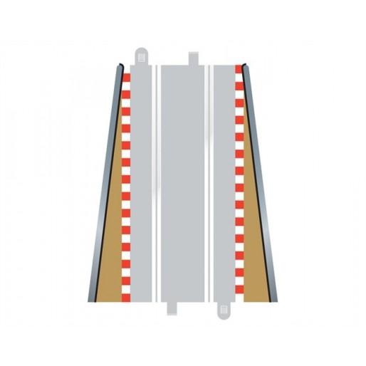 Scalextric C8233 Fin de Bordures Droite x2