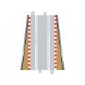 Scalextric C8233 Fin de Bordures Droite (2 pcs)