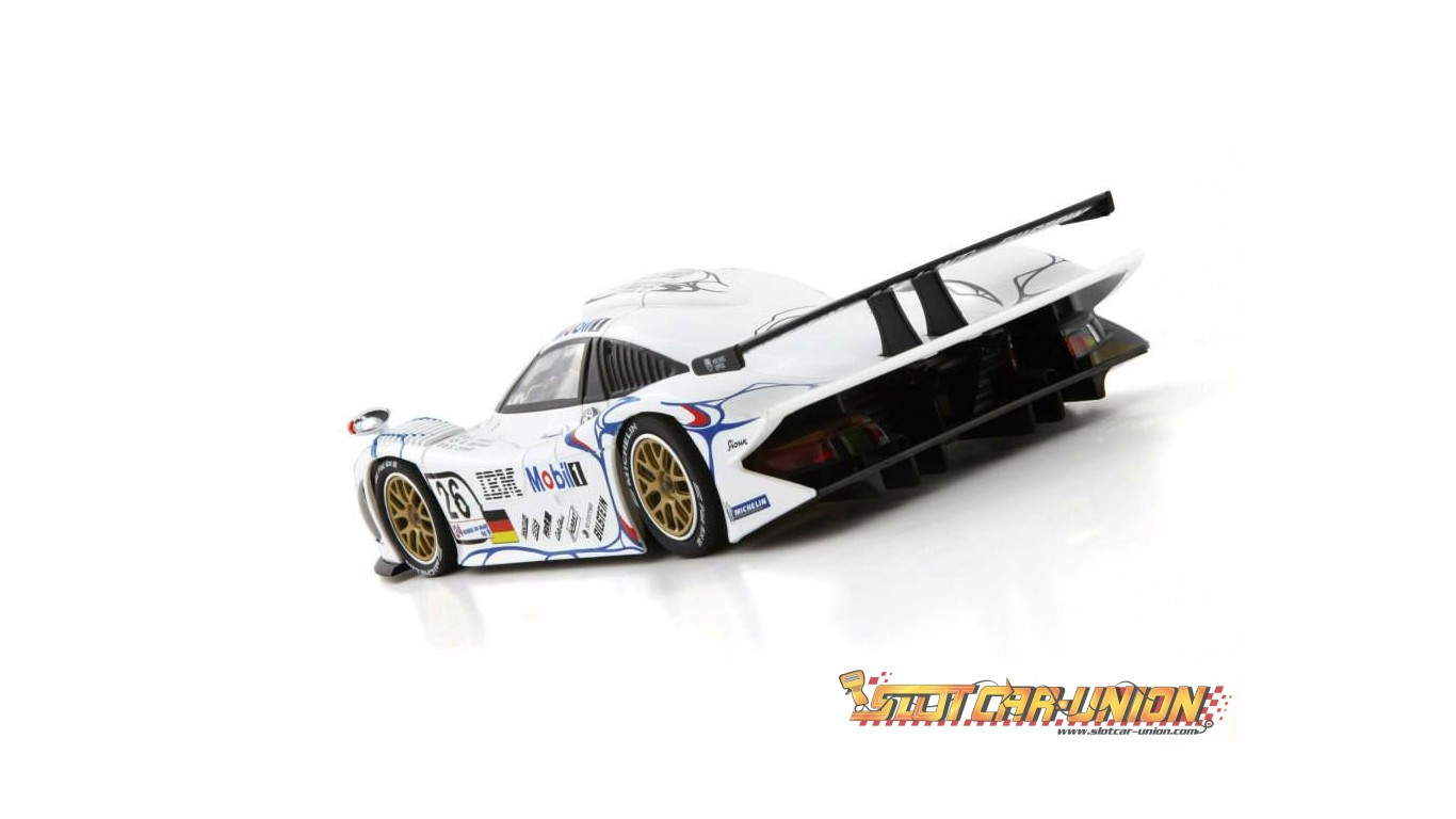 cw13 porsche 911 gt1 evo 98 n 26 1st le mans 1998 slot car union. Black Bedroom Furniture Sets. Home Design Ideas