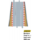 Scalextric C8233 Straight Lead In/Out Borders (2 pcs)