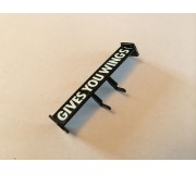 Scalextric W10598 WING MIRRORS REAR WING C3471