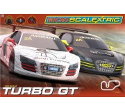 Micro Scalextric G1118 Turbo GT Set