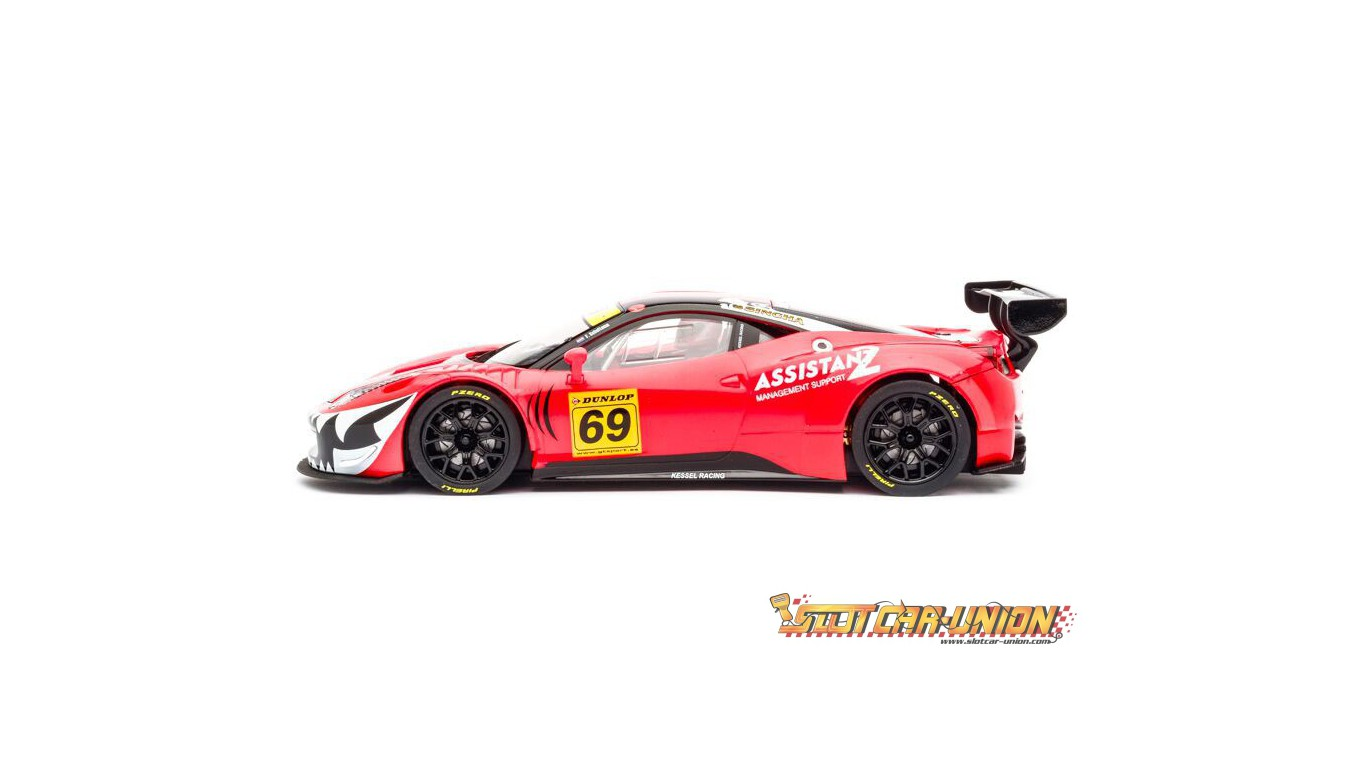 Carrera Digital 124 23838 Ferrari 458 Italia Gt3 Kessel Racing No 69 Slot Car Union