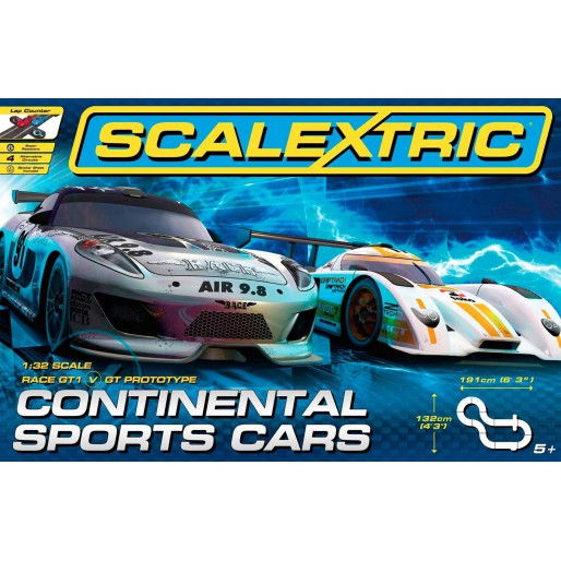 Scalextric C1319 Continental Sports Cars Set