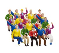 Carrera 21129 Set of figures Grandstand