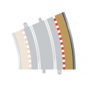 Scalextric C8238 Bordures Extérieures Courbe Radius 4 22.5° x4