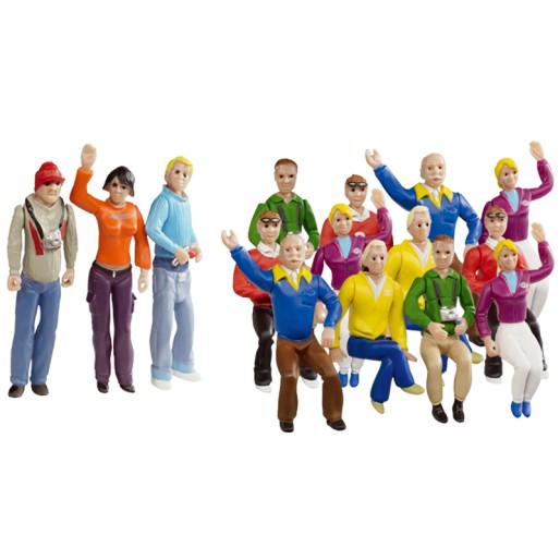 Carrera 21128 Set de figurines Fans