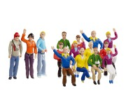 Carrera 21128 Set de figurines Fans