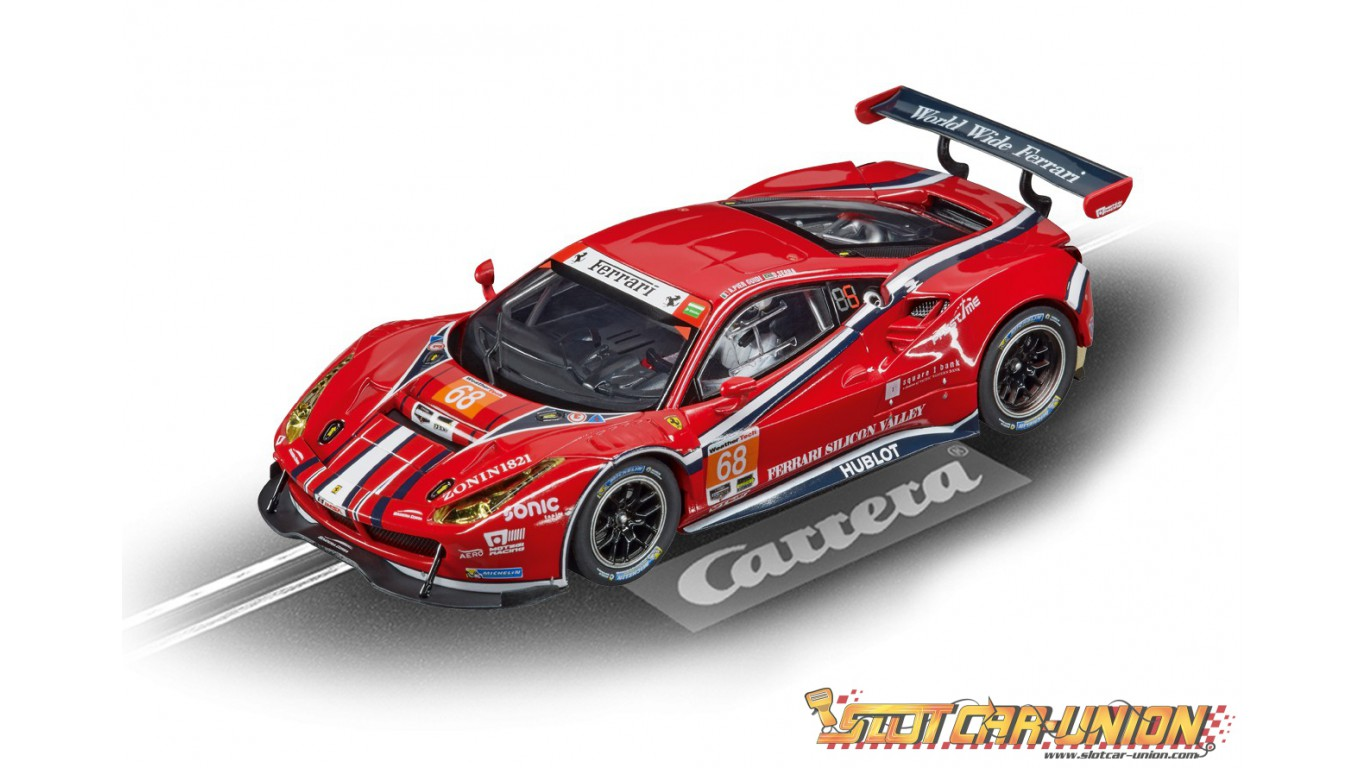 carrera digital 132 30809 ferrari 488 gt3 af corse. Black Bedroom Furniture Sets. Home Design Ideas