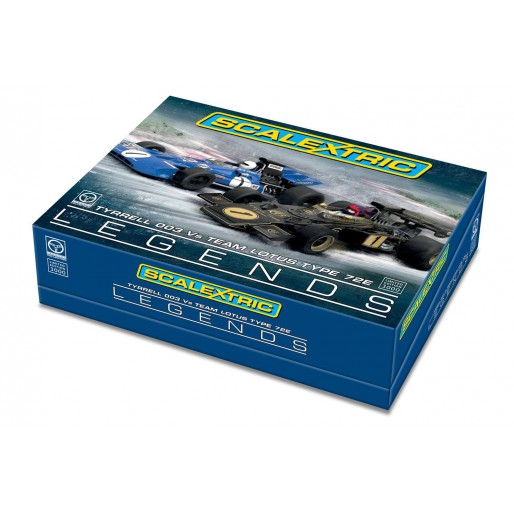 Scalextric C3479A Legends Tyrrell 003 vs Team Lotus Type 72E Edition Limitée