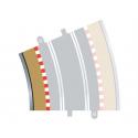 Scalextric C8282 Bordures Intérieures Courbe Radius 4 22.5° (4 pcs)