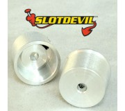 Slotdevil 2008110804 2,38mm Mini jante 10x11x8mm x2