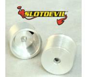 Slotdevil 2008110804 2,38mm Mini Jante 10x11x8mm x2
