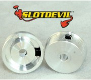 Slotdevil 2008110404 2,38mm Mini jante 10x11x4mm x2