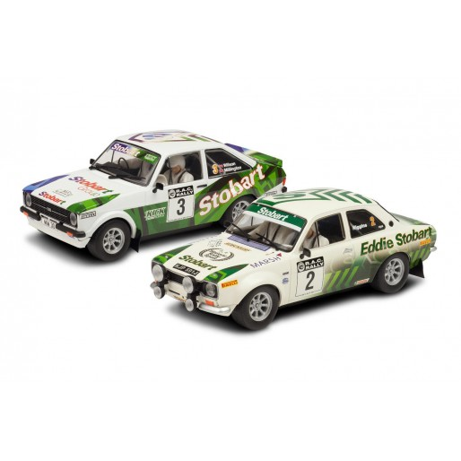 Scalextric C3369A Eddie Stobart RAC Rally Escorts Limited Edition