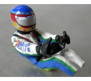 LE MANS miniatures Figure Driver Pescarolo C60 Sébastien Loeb