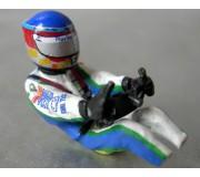 LE MANS miniatures Figurine Pilote Pescarolo C60 Sébastien Loeb