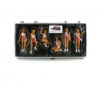 LE MANS miniatures Figurines 6 Miss Hawaiian Tropic 1992 - 1994