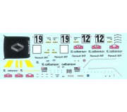 LE MANS miniatures Decal sets for Renault 5 Alpine Gr2 Calberson