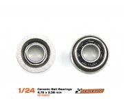 """Scaleauto SC-1320c Ceramic ball bearing 4.75mm x 3/32"""" Flanged. Open -NEW 2016-"""