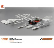 Scaleauto SC-6149 Peugeot 208 T16 White Racing Kit