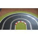 Slot Track Scenics K-R1 Kerbs for Radius 1 curves x4