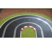 Slot Track Scenics K-R1 Bordures pour courbes Radius 1 x4