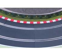 Slot Track Scenics K-R3 Bordures pour courbes Radius 3 x4