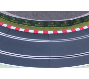 Slot Track Scenics K-R3 Kerbs for Radius 3 curves x4