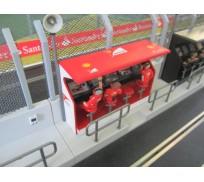 Slot Track Scenics TS/Dec. 1 Decals Timing Stand – Ferrari