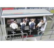 Slot Track Scenics TS/Dec. 5 Decals Timing Stand – Williams