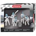 "Carrera 21133 Lot de personnages, mécaniciens ""argent"""